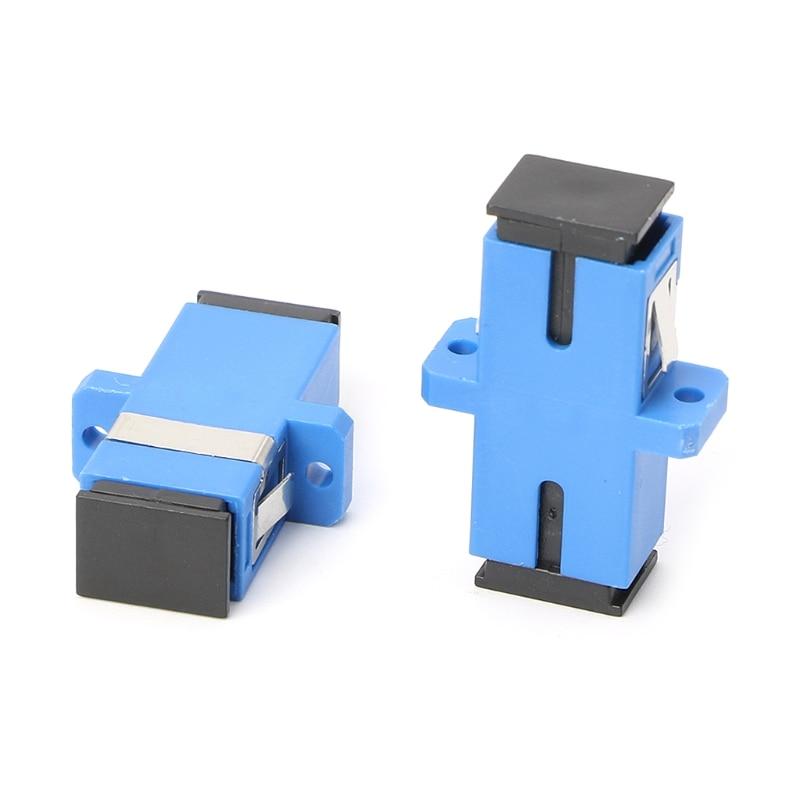 10pcs Sc Upc Fiber Optic Adapter Sc Fiber Optic Flange Sc
