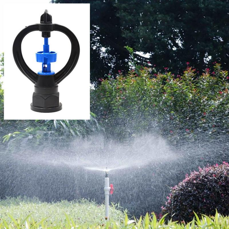 360 Degree Rotary Sprinkler Horticultural Nozzle High Pressure Water Saving Micro Sprayer Nozzle Kits For Lawn Garden Watering