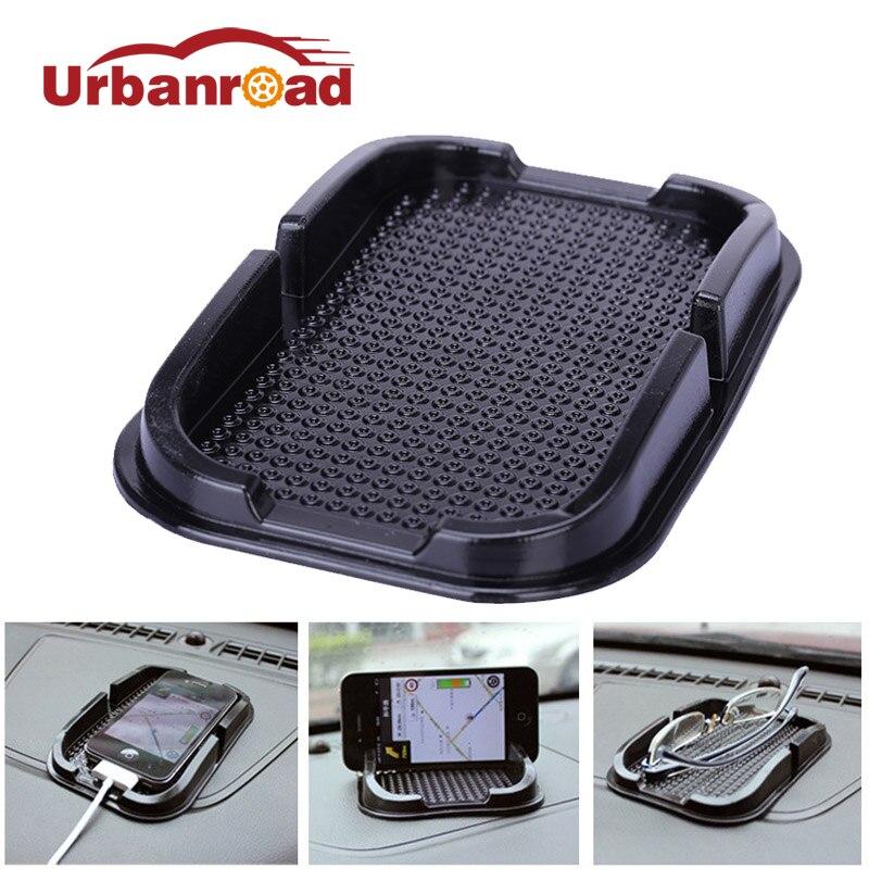 Urbanroad Anti-Slip Sticky Gel Pad Rubber Mobile Phone Shelf Car Magic Anti-Slip Dashboard Sticky Pad Non-Slip For BMW Audi VW