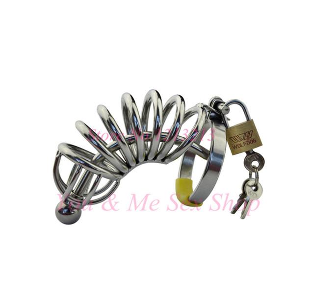 2016 Novo cinto de aço Inoxidável do Caralho, masculino bloqueio castidade CB6000, Adulto brinquedos alternativos, dispositivo de castidade masculino, anel da torneira, brinquedos sexuais dos homens