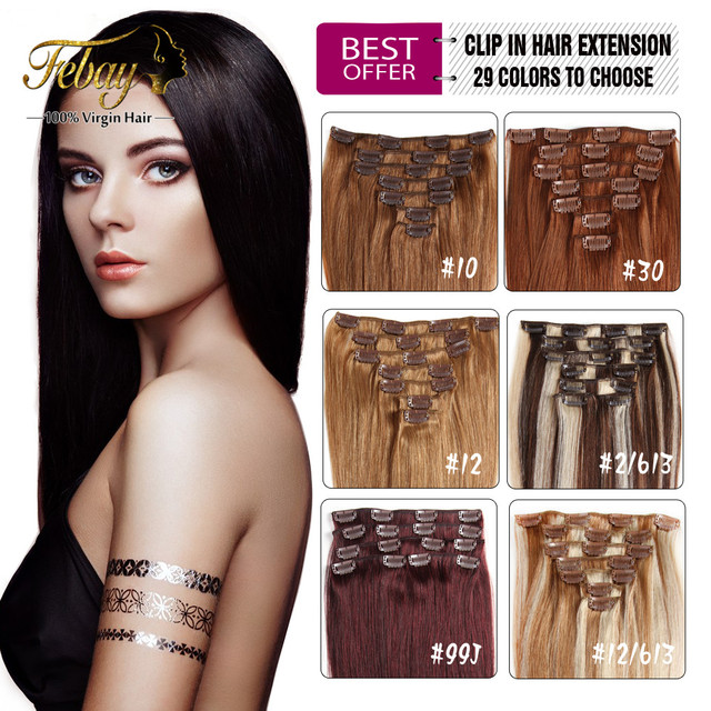 Brazilian virgin hair clip in human hair extensions full head 70g brazilian virgin hair clip in human hair extensions full head 70g 160g clip in brazilian pmusecretfo Choice Image