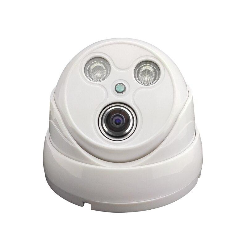 CAMERA TF card network hemisphere wide-angle night vision 720P P2P onvif plastic indoor dome IP camera security lights 2IR audio hd 960p 1 3mp plastic indoor dome ip camera security network onvif p2p pickup
