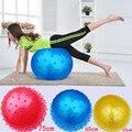 Brinquedos ginásio Bola Inflada PVC Crianças Bola De Stress Bolas de Exercício de Fitness ao ar livre Desporto Divertimento Adulto Yoga Interior da Festa de Aniversário Favores