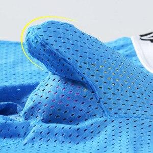 Image 5 - Mannen ondergoed Ijs zijde scrotum Carrier pouch lange stijl Super plus size 7XL boxers zachte elastische comfortble sport panty 1104