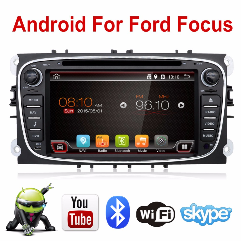 In Dash Android 6 0 For ford focus 2 mondeo 2 Din font b Car b
