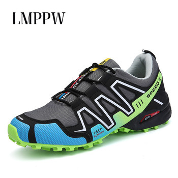 New 2019 Men's Mountaineering Shoes Leisure Men's Shoes, Luxury Outdoor Hiking Shoes Brand Men's Sports Travel Shoes Sneakers 2A