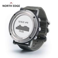 Relogio Masculino North Edge Men Sport Smart Digital watch Waterproof outdoor clock fishing thermometer climbing hours Watches