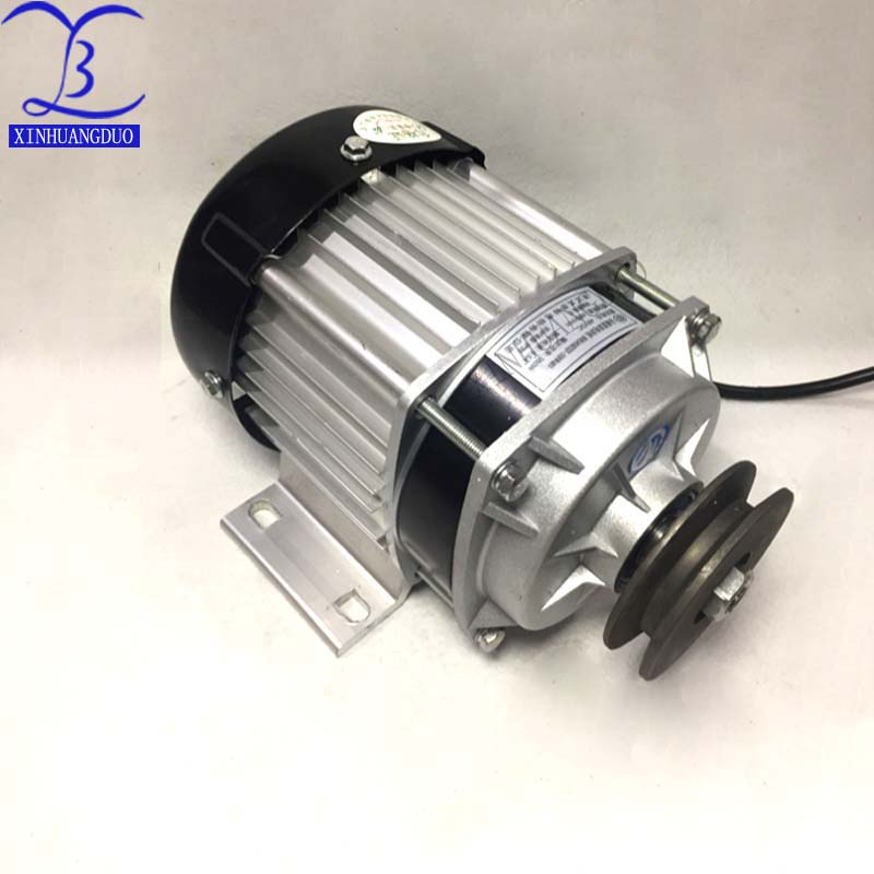 Electric Bicycle Motor Bm1418zxf Bldc Hard-Working Best!500w Dc 48v / 60v Belt Pulley Brushless Dc Motor