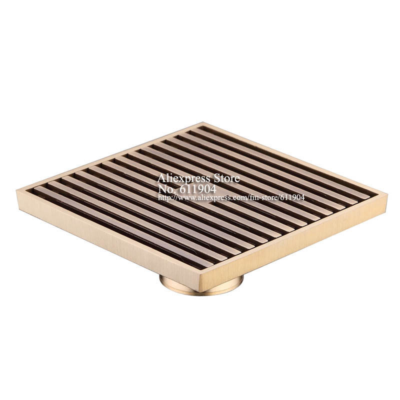 12 x 12cm Square Bathroom Shower Drain Floor Drainer Trap Waste Grate  Strainer Wire floor drains. Popular Floor Drain Grating Buy Cheap Floor Drain Grating lots
