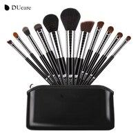DUcare New Professional 11pcs Makeup Brushes Set Powder Foundation Eyeshadow Make Up Brush Makeup Tools Kit