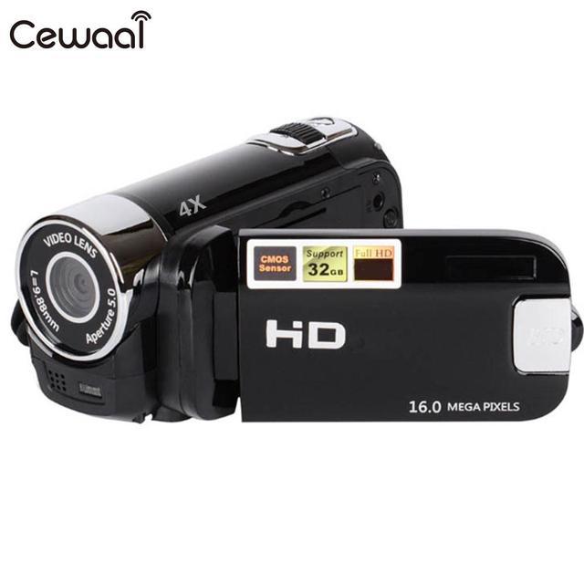 Cewaal FULL HD 1080P Digital Video Camera Camcorder Digital 16X Zoom Fill Light USB Recorder Photography 2.4 LCD DV Video Camera