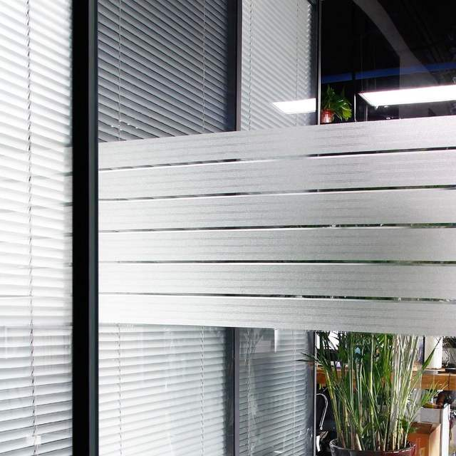 Clear Strip Static Window film Cling Frosted Window Film Privacy Reject UV  17 7*78 7 inches