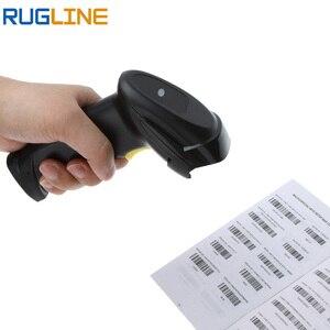 Image 4 - Leitor de códigos de barras portátil, scanner usb com fio, leitor de código de barras, rs232