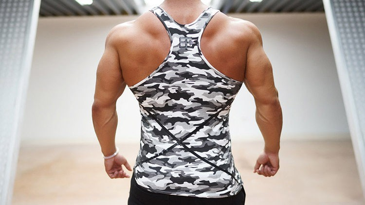 Aolamegs Tank Tops gyms professional bodybuilding muscle men\'s camo vest sporting gymshark camouflage undershirt sportswear (7)