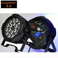 TIPTOP Stage Light 18*15W 5IN1 LED PAR Aluminum Silent (no fans) URANUS 12 RGBWA 5IN1 Slim Casting Aluminum 4 Digital Display