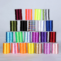 8Colors 3mm 90m Spool Nylon Cord Elastic String Strap Bracelet Braided String Fit Necklace Bracelet DIY