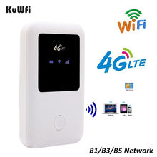 4G Lte Pocket Wifi Router Car Mobile Wifi Hotspot Wireless Broadband 2000mAH Battery Wifi Extender Repeater With Sim Card Slot