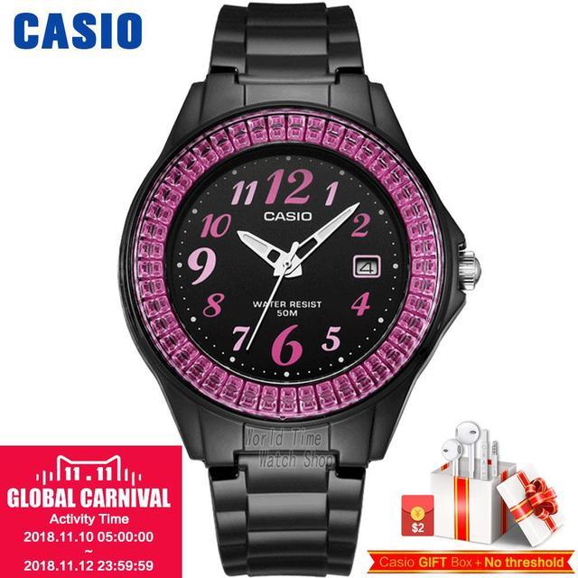 ba564c0ca47 Casio relógio Doces moda esportes relógio de estudantes do sexo feminino LX -500H-2B