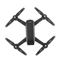 2.4G RC Drone Foldable Quadcopter with 720P HD Wifi FPV Camera Optical Flow Positioning Altitude Hold Headless Mode RC Drone Toy