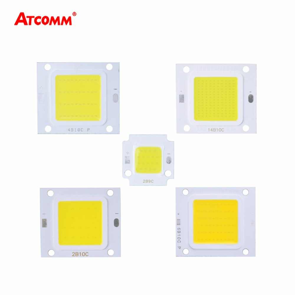 LED Matrix 30V 10W 20W 30W 50W 70W 100W LED Diode Array For Spotlight High Power COB LED Lamp Projector Floodlight Source