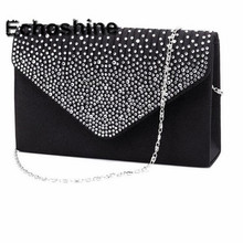 Excellent Quality 2016 NEW Ladies Evening Party Small Clutch Bag Eveningbag Bridal Purse Handbag Evening Bags Bolsas Feminina