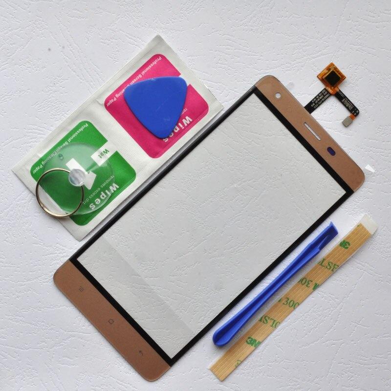 ZUCZUG 5.5 ''Tactile Écran Sensible Pour Oukitel K6000 Pro Avant Tactile Digitizer Panneau Capteur K6000 Pro Partie Outils Gratuits + adhésif