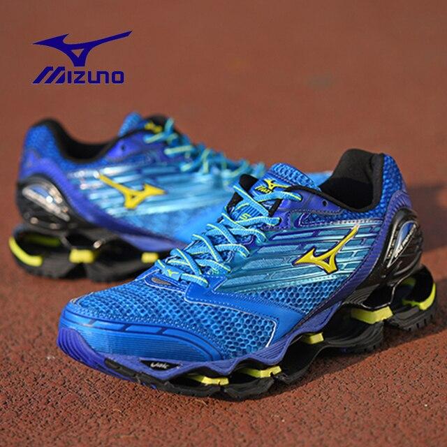 Оригинальный Mizuno Wave Prophecy 5 профессиональная спортивная обувь кроссовки Mizuno WAVE W E TENJIN J1GR15670140 штангетки