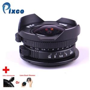 Image 1 - Kamera 8mm F3.8 Balık gözü Için uygun Mikro Dört Thirds Dağı Kamera + Lens temizleme kalem veya Lens toz Temizleyici, panasonic için