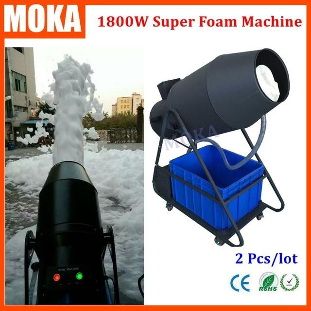 2pcs Lot Stage Effect Machine Foam Party Machine Spray