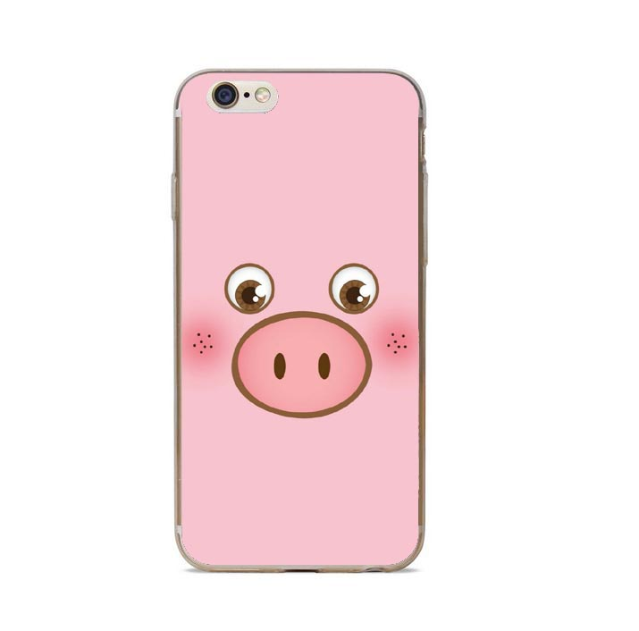 coque iphone 8 plus petit cochon