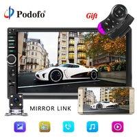 Podofo 7018B 2 Din Car Radio Video Player 7 Touch Car Multimedia player MP5 Player USB FM Bluetooth Mirror Link 2din Autoradio