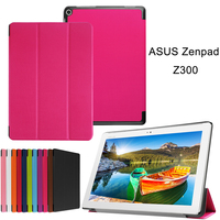 For ASUS Zenpad 10 Z300C 10.1''   Tablet     Case   Coque For Zenpad 10 Z300cl Slim Smart Flip Leather Stand Cover Protector   Case