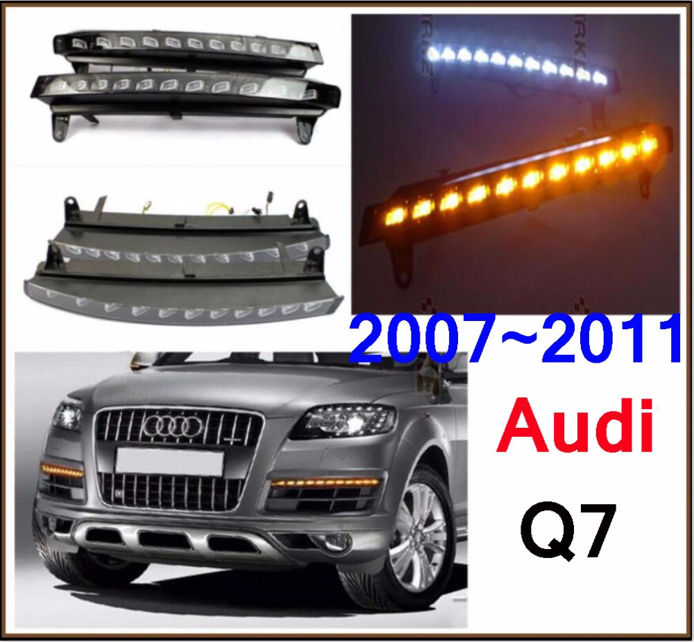 2007~2015 LED,Q7 Day Light,Q7 fog light,Q7 headlight,Q7 fog lamp,A4,A5,A8,Allroad,Quattro,Q3,Q5,Q7,S3 S4 S5 S6,Q7 Taillight