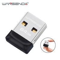 WANSENDA-unidad Flash USB resistente al agua, memoria USB 2,0 súper pequeña de 4GB, 8GB, 16GB, 32GB y 64GB