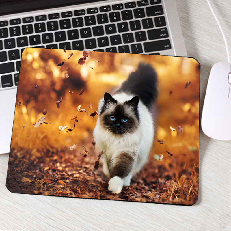Mairuige так мило прекрасный аниме кошки Мышь Pad к мини-ПК Тетрадь Коврики на стол милые Животные с принтом Игры Геймер Мышь коврик