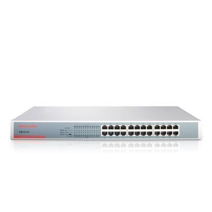 Kvm-switches Mercury Sg124 24 Rj45 Port Gigabit Netzwerk-switch 10/100/1000 Mbps Ethernet Auto Mdi/mdix Für Unternehmen Gewidmet Stahl Din Rack