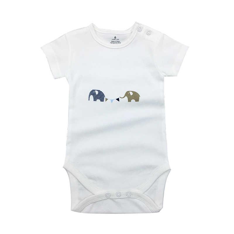 ブランド新 0-24 M 新生児キッズベビーガールズボーイズ固体リブボディースーツ半袖ニット固体ジャンプスーツ夏の服