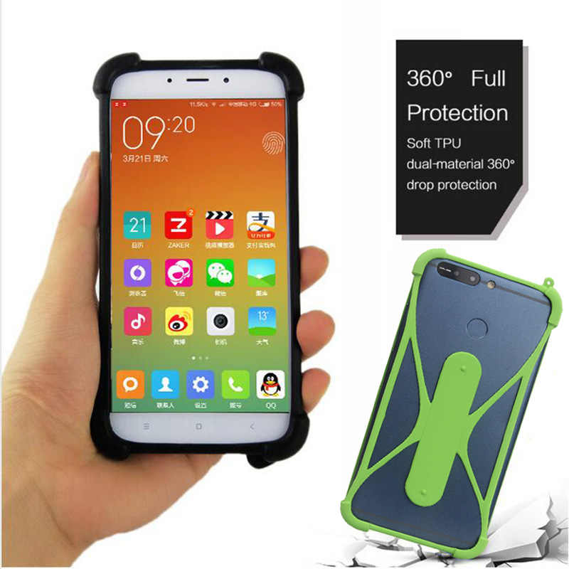 competitive price 56a04 48a19 Argos Bush 5 Inch Android Smartphone Silicone Case Back Cover TPU ...