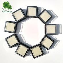 Упаковка из 15) декоративные белые пустые чернильные подушечки для наполнения чернилами для пигментных чернил