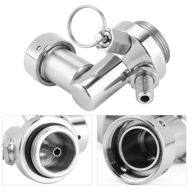 2L Stainless Steel Beer Mini Keg With Pressurized Faucet 6