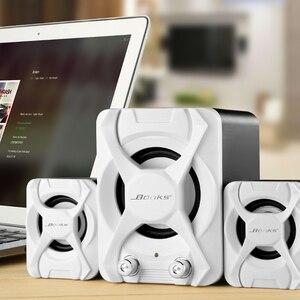 Image 5 - גבוהה כוח 3D סטריאו סאב 2.1 מחשב רמקול נייד בס מוסיקה DJ Soundbar טלוויזיה USB מחשב רמקולים למחשב נייד טלפון טלוויזיה
