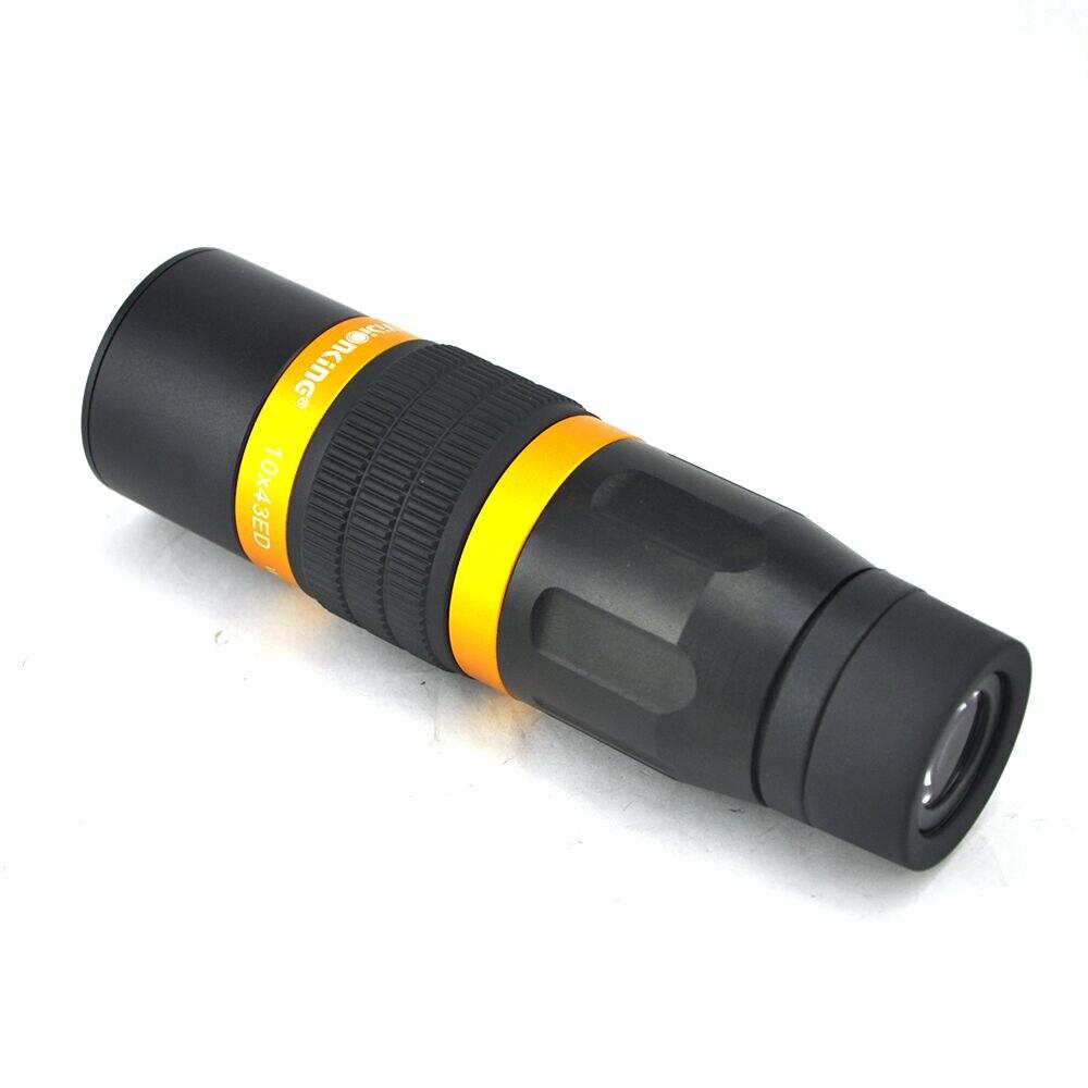 Visionking Portable Super Monocular font b Telescope b font 10x43ED BAK4 HD Large lens Waterproof Hunting