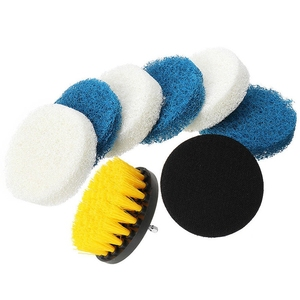 Image 5 - 11 Pcs Power Scrubber Brush Drill Brush Clean For Bathroom Surfaces Tub Shower Tile Grout Cordless Power Scrub Cleaning