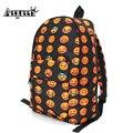 AEQUEEN Waterproof 3D Smiley Face Printing Backpacks Women School Bags For Teenage Girls Oxford Travel Backpack Rucksack Bookbag