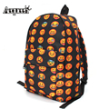 Aequeen 3d à prova d' água rosto sorridente impressão mochilas mulheres sacos de escola para adolescentes meninas oxford mochila de viagem mochila mochila