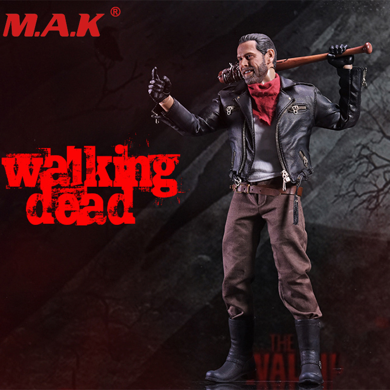 1/6 Scale The Walking Dead Negan Full Set Action Figures Body & Head & Accessories Toys Gifts Collections тетрадь на скрепке printio sunset shimmer negan the walking dead
