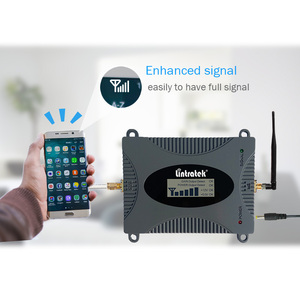 Image 4 - Lintratek GSM Repeater Voice Amplifier 900Mhz 2G Signal Booster Full Kit GSM 900 Cellphone Booster Yagi Antenna+10M Cable