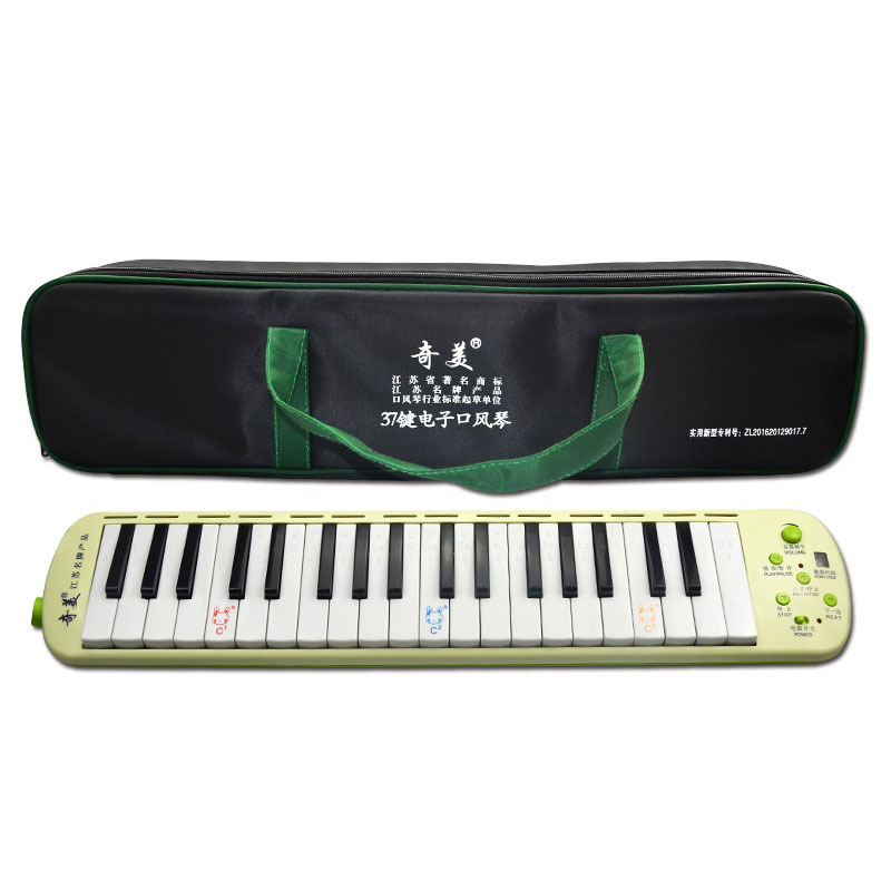 37 Piano Style Key Melodica Musical Education Instruments Electric Organ Beginner Children Kids Gift Key C Pianica Qimei QM37A10 puzzle multifunctional piano baby early education music hand drums intelligent piano toys