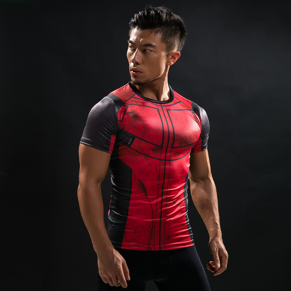 Punisher 3D Printed T-shirts Men Compression Shirts Long Sleeve Cosplay Costume crossfit fitness Clothing Tops Male Black Friday 85