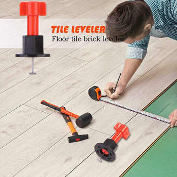 \'The Best\' 75 Pcs Reusable Anti-Lippage Tile Leveling System Locator Tool Ceramic Floor Wall 889